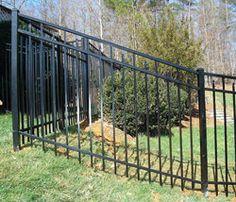 FENCE ARTICLE -Aluminum Fence Installed & On Slopes