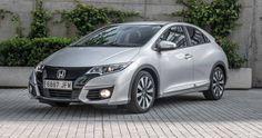 Honda Civic 1.6 i-DTEC Sport (5p) (120cv) 2015 (Diésel) - #Clicars #Coche #BuenaMano #Certificación #Motor #auto #vehículo #car #motor #carroceria