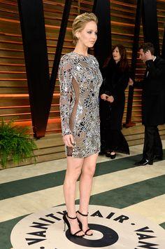 Jennifer Lawrence - 2014 Vanity Fair Oscars Party