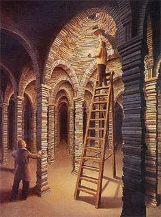 Rob Gonsalves - «The Library».JPG