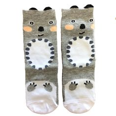 KOALA KNEE HIGH SOCKS Knee High Socks, Unisex, Cotton, Baby, Kids, How To Wear, Products, Fashion, Young Children