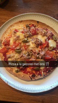 Pizza a la gezond met ons