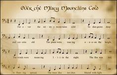 "Jelia's Music Playground: Piano Sheets & Lyrics ""Misty Mountains"" (OST. The Hobbit)"