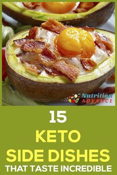 15 Keto Side Dishes That Taste Incredible - Looking for some delicious keto side dishes? Here are 15 recipes which all use healthy and extremely tasty ingredients. Low carb, but full of flavor! via @nutradvance