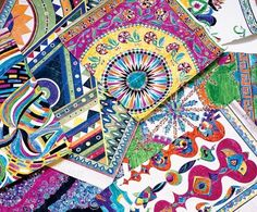 Emilio Pucci's scarves. Photography by Marina Faust
