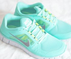 This looks awfully close to Tiffany blue on my feet! If that's not motivation to hit the gym, I don't know what is.
