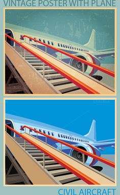 Civil Aviation by Blacklight on Creative Market