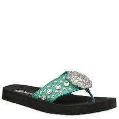 Grazie Women's Buckaroo Sandal | shoemall | free shipping!