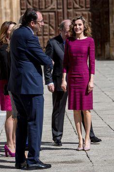 """Le Roi Felipe et la Reine Létizia ont présidé la cérémonie des """" Prix Nationaux de la Culture """" une reconnaissance de la société pour la contribution à l'enrichissement du patrimoine..."""