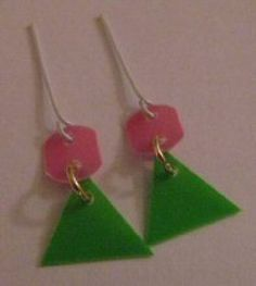 Jewelry for A Mod Barbie Doll Repro Swirly Cue Que Earrings | eBay