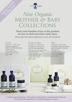 Organic skincare for mother and baby, from Neals Yard Remedies. #organicbaby #organicskincare #newmum