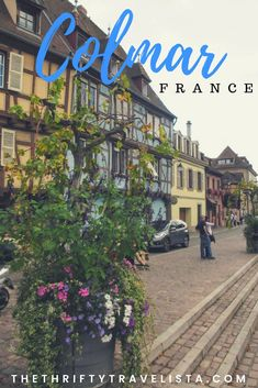 Looking for a quaint European town that's not completely overrun with tourists? Colmar, France is the perfect choice. Filled with half-timbered houses with overflowing flower boxes Colmar is the classic European town you've never heard of. An itinerary for a day in Colmar.  #Alsace #Colmar #France #Europe #travel #daytrip France Europe, France Travel, Colmar Alsace, German Architecture, Gustave Eiffel, New York Harbor, Travel Organization, Flower Boxes, Day Trips
