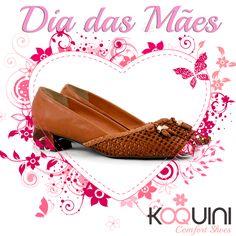 Confortável e perfeito para qualquer momento #koquini #sapatilhas #euquero #saltinho #tresse Compre Online: http://koqu.in/1SHU7FO