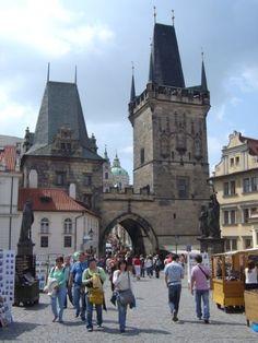 Chequia. Praga. Mala Straná. Puente de Carlos