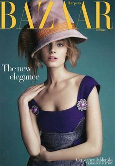 Harper's Bazaar Australia Sept. 2012 - Constance Jablonski