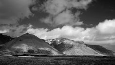 Pacheco says black-and-white photography showcases the dramatic contrasts of Iceland's terrain.