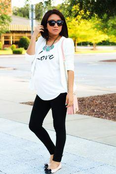 Simply chic via jessicaFashionNotes.com, joryck, embarazada, pregnancy style, target, liz lange, thebump.com