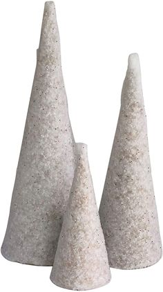 3 10.63 x 4 Paper Mache Craft Cones Variety Pack 3 Sizes- 13.75 x 5 7 x 3 Inches