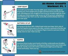 Home Cross Fit Workout