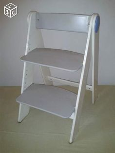 1000 ideas about chaise haute bois on pinterest high chairs steel and chairs - Customiser une chaise ...