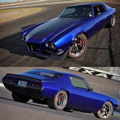 """693 curtidas, 4 comentários - ProTouring - #BuiltToDrive (East Bay Muscle Cars) no Instagram: """"Absolutely stunning second gen #camaro built by @gapracing for robin cramer ! Jesse Gillespie power, Detroit Speed Factory™…"""""""