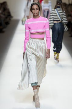 Vogue Runway's Nicole Phelps picks the 8 definitive collections of Milan Fashion Week: Fendi.