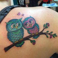 40 Cute Owl Tattoo Design Ideas // May, 2020 Baby Owl Tattoos, Cute Owl Tattoo, Animal Tattoos, Leg Tattoos, Body Art Tattoos, Sleeve Tattoos, Tattoo Art, Blue Butterfly Tattoo, Butterfly Tattoos For Women