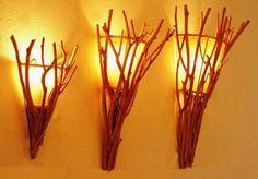 Rama de teca lampara pared 3 tamaños-en Lámparas de pared de Iluminación Festival en m.spanish.alibaba.com.