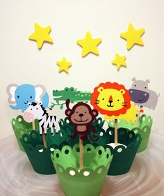 Its A Jungle In Here Jungle Animal Themed by Foolishworkerbee, $10.00