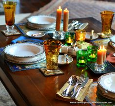 ~coffee table dining~~elegant and easy~ #MirassouDinner