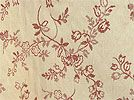 Montague Rose / $14/98 a yard / embroidered floral matelasse