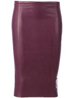 Stouls Leather Pencil Skirt - L'eclaireur - Farfetch.com - 910
