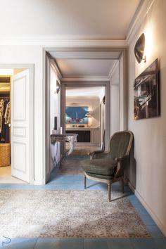 Rénovation, réaménagement & décoration d'un Appartement de 160m² à Paris 16eme