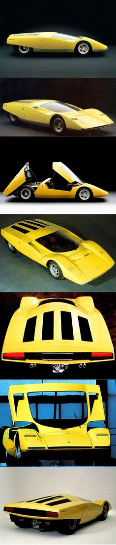 1969 Ferrari 512 S Berlinetta Speciale / Italy / yellow / Pininfarina Filippo Sapino / concept