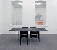 Minimalist Black Dining Set