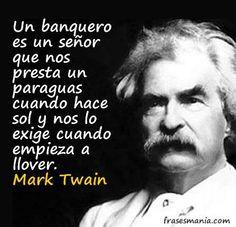 Un banquero es ....