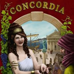 Concordia map #boardgame #newgames