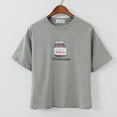 Encontrar Más Camisetas Información acerca de Emoji promoción limitada algodón…