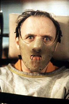 Movie - Silence of the Lambs - Hannibal Lecter - Anthony Hopkins - Jodie Foster - Ted Levine Hannibal Series, Nbc Hannibal, Hannibal Lecter Mask, Hannibal Rising, Jodie Foster, Scary Movies, Great Movies, Awesome Movies, Awesome Stuff
