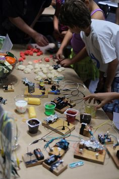 Makerspace, a community space for makers of all ages in LA.