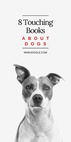 Dog lover? Then you'll love these touching books about dogs, on this book list from Mind Joggle. These fiction and nonfiction books will make you laugh and cry and remember why you love dogs so much. #books #booklist #dogs