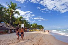 Araial D'Ajuda beach