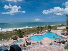 """Saint Petersburg, FL: This """"all condo"""" Beachfront Resort, North St. Pete Beach, is situated directly on the powder-white sands of Treasure Island beach overlooking the Gulf..."""
