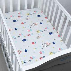 Baby Bedding Mother & Kids Honest Baby Bedding Set Bumper Cotton Carton Print Soft