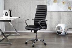 Ergonomischer Bürostuhl BIG DEAL schwarz modernes Design und höhenverstellbar