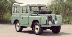 LAND ROVER SERIES IIA FRONT 740x380 1968 Land Rover Series IIA