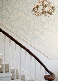 All Laura Ashley wallpaper 15% off this month, including this print!