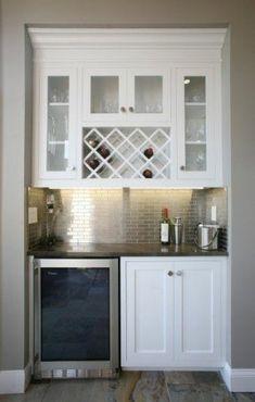 Metal wine cabinet 1