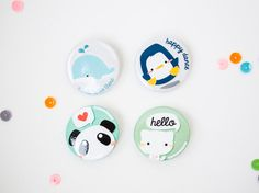 Hey, I found this really awesome Etsy listing at https://www.etsy.com/listing/209542009/whale-penguin-panda-cat-button-pins