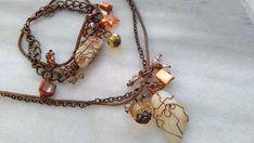 Bohemian-Gipsy style, Sea stone Jewelry